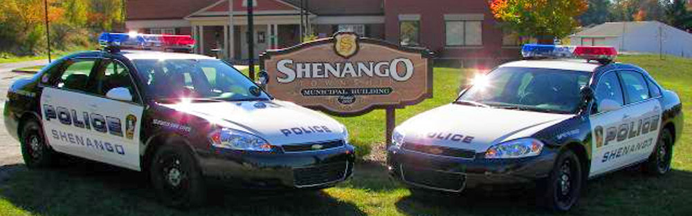 Shenango Township Police Department Police Cars